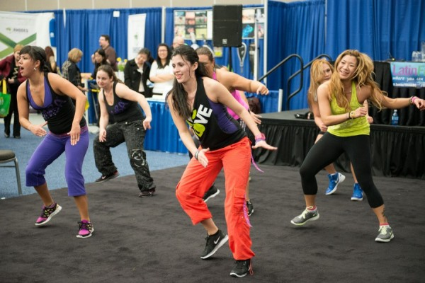 Zumba at the Wellness Show