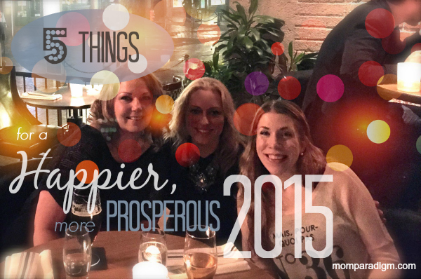5 thing for 2015