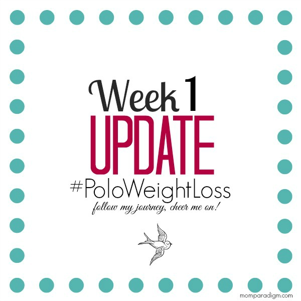 Week1 Polo Weight Loss